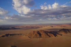 Namibia pustynia od nieba obrazy stock