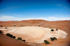 Namibia pustynia, Sussusvlei, Afryka Obraz Royalty Free