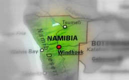 namibia republika obraz royalty free