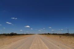Namibia road Stock Photography