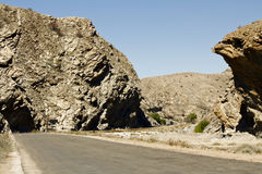 Namibia road - Goanikontes Stock Photo
