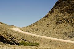 Namibia road - Goanikontes Royalty Free Stock Image