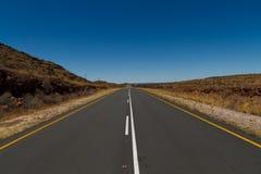 Namibia road Royalty Free Stock Photo