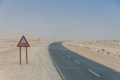Namibia - Road to Lüderitz Stock Photos