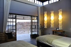 Namibia: Rockefellers-Fisch-Fluss-Häuschen an der Schlucht Lizenzfreies Stockfoto