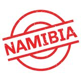 Namibia rubber stamp Stock Photo