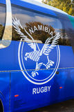 Namibia Rugby Union Coach Royalty Free Stock Images