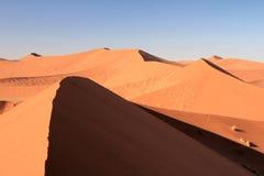 Namibia Sand Dunes Stock Images