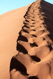 Namibia Sand Dunes Stock Photo