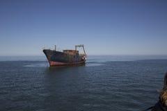 Namibia, shipwreck Stock Image