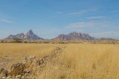 Namibia - Spitzkoppe Royalty Free Stock Images