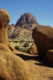 Namibia Spitzkoppe landscape Royalty Free Stock Photography