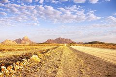 Namibia Spitzkoppe Landscape Royalty Free Stock Photos