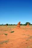 Namibia, termitów kopowie Fotografia Royalty Free