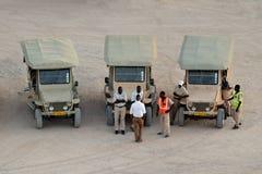 Namibia travel cars, Namibia Royalty Free Stock Photography