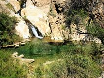 Namibia, Wasserfall in Naukluft-Park lizenzfreie stockfotos