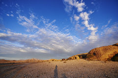 Namibian Cloudscape Royalty Free Stock Photo