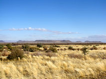 Namibian landscape Royalty Free Stock Images