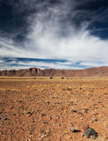 Namibian landscape. The Namib is a coastal desert in southern Africa Stock Images