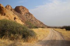 Namibian landschap royalty-vrije stock foto