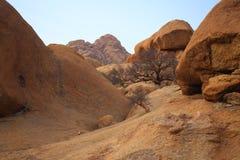 Namibian landschap Royalty-vrije Stock Afbeeldingen