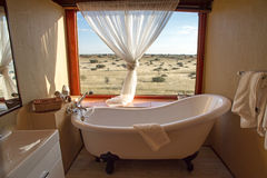 Namibian lodge Stock Photo