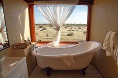 Namibian lodge royalty free illustration