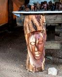 Namibian mask, Africa Royalty Free Stock Photography