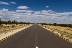 Namibian road Royalty Free Stock Photography