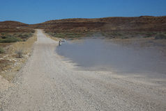 Namibian roads Stock Photos