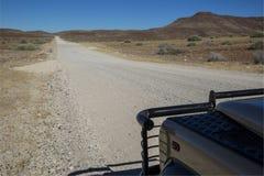 Namibian roads Stock Photo