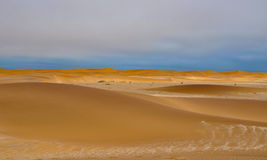 Namibian sand dunes Stock Image