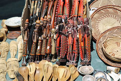 Namibian Souvenirs Royalty Free Stock Images