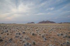 Namibian sunsetSesriem. A sunset in the namibian bush in sesriem Royalty Free Stock Photo