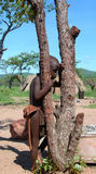 Namibian village boy Royalty Free Stock Image