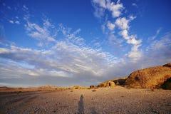 Namibijski Cloudscape zdjęcie royalty free