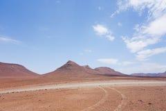 namibijski krajobrazu Obrazy Stock