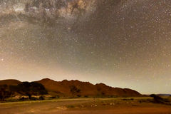 NamibRand Night Sky - Namibia Stock Photos