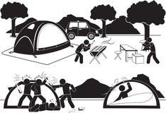namiot Zdjęcie Stock