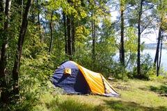 namiot campingowy Fotografia Royalty Free