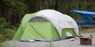 namiot campingowy Fotografia Stock