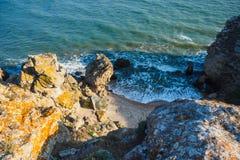 Namiot morzem obrazy stock