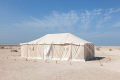Namiot w Katar, Środkowy Wschód Obraz Stock