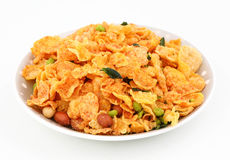Namkeen. Mixed namkeen with peanuts and others Stock Images