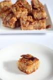 Nammora Lebanese semolina honey cake Stock Images