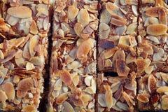 Nammora Lebanese semolina honey cake Royalty Free Stock Image