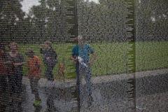 Namn av vietnamkrigetolycksoffer på Fotografering för Bildbyråer