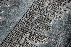 Namn på en Utah huvudstadmonument arkivbild