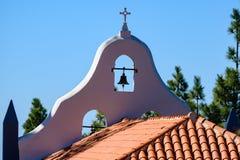 Namnet av detta kapell är Ermita de la Virgen del Pino royaltyfri foto