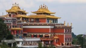 Namo菩萨修道院在尼泊尔 免版税库存照片